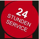 24 Stunden-Service